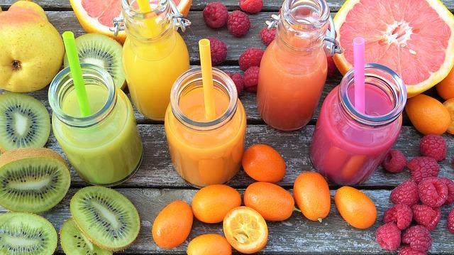 nápoje z ovoce