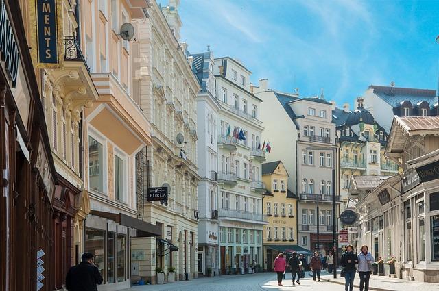 ulice Karlových Varů