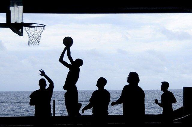 basketbalový tým přátel